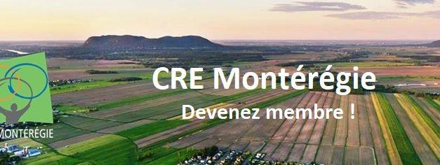 Devenez membre du CRE Montérégie !
